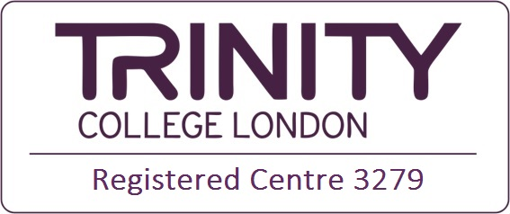 trinity logo registered centre